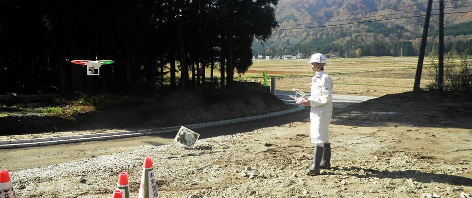 配水池調査清掃ロボット|山形県の髙橋工務店